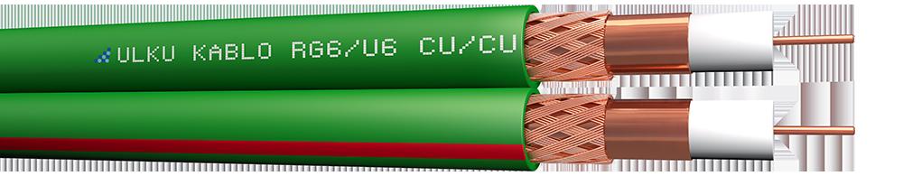 Ülkü Kablo 2 x MİNİ U/6 (CU/CU)