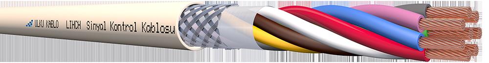 Ülkü Kablo LIHCH 8x0,75mm²