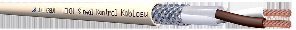 Ülkü Kablo LIHCH 2x0,50mm²